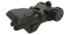 CXP back-up Sight  - Rear set - Black