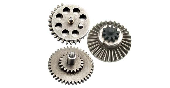 Gears, shims, bushings