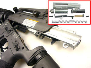 M4 A1 Retractable stock