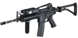 M4 RAS med skjutbar stock
