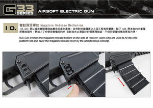 G33 Compact Assault rifle, Two tone