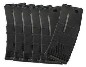 ICS Midcap magasin svarta 6-pack