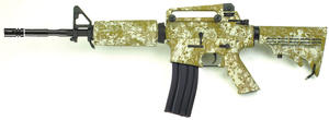M4A1 with retractable stock, Digital Desert