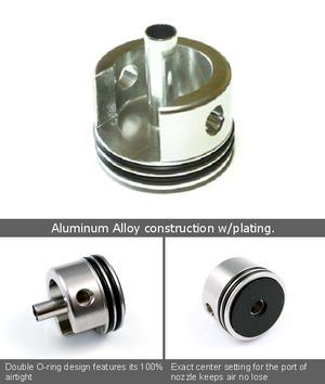 Cylinderhuvud i aluminum till Classic Army Ver.2/Ver.3