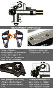 Accurate Metal Hop Up Chamber for M16/M4 Series