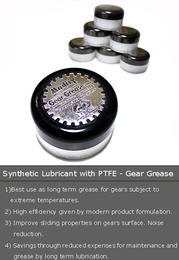Synthetic Lubricant with PTFE - Gear Grease (20ML)